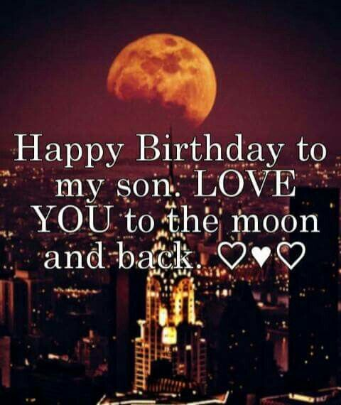 Happy Birthday to my son