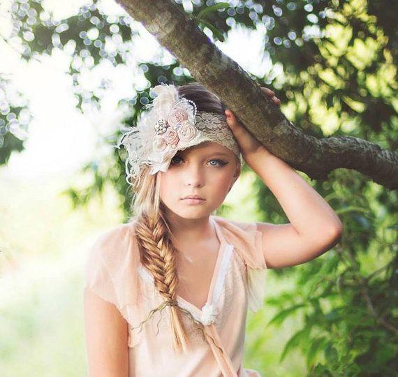 Vintage Cream Ivory and Baby Pink Silk by HeavenlyAvonlee on Etsy