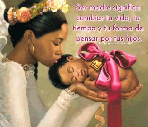 Ser madre significa cambiar tu vida, tu tiempo y tu forma de pensar por tus hijos. @trazosenelcorazon
