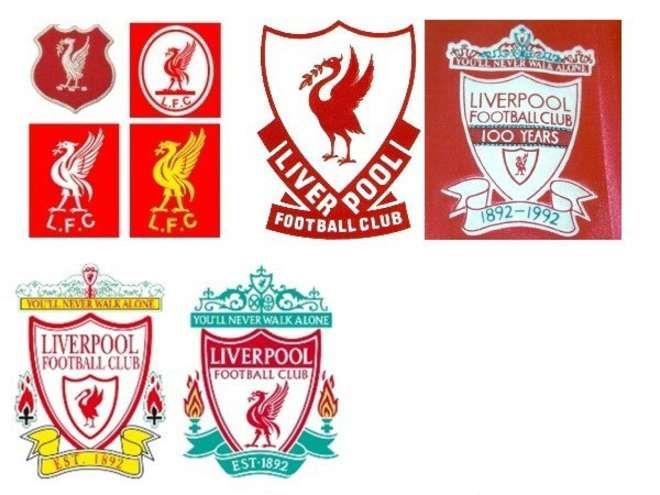 Liverpool badge history   Calciatori, Calcio
