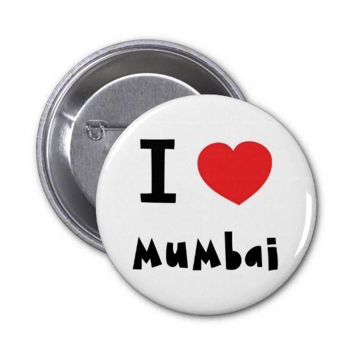 I heart Mumbai / Bombay Pin