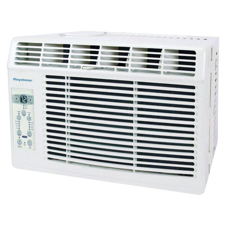 Keystone 5-000 Btu Air Conditioner with Remote Control - White - KSTAW05B