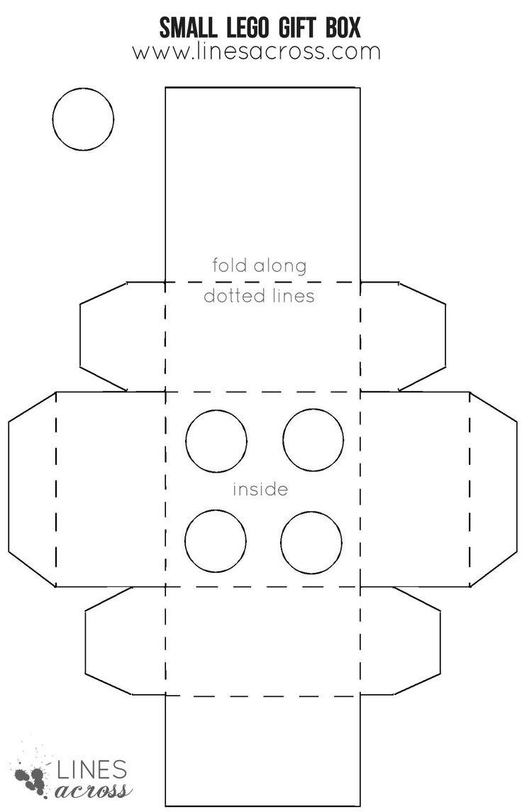 Small Lego Gift Box Template - Google Drive