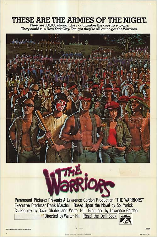 The Warriors 1978 Original U.S. One Sheet Movie Poster