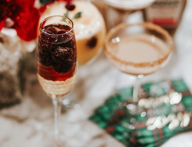 Holiday Spritzer Drink