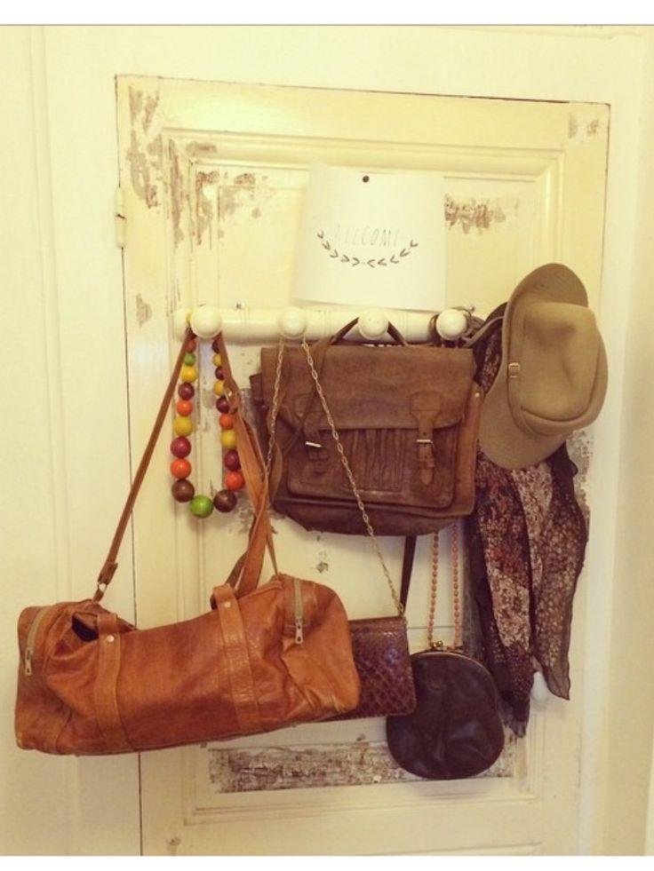 Automne sac en cuir