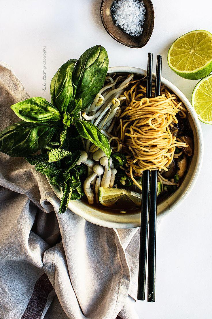 Vegetarian Pho - {Vietnamese noodle soup}