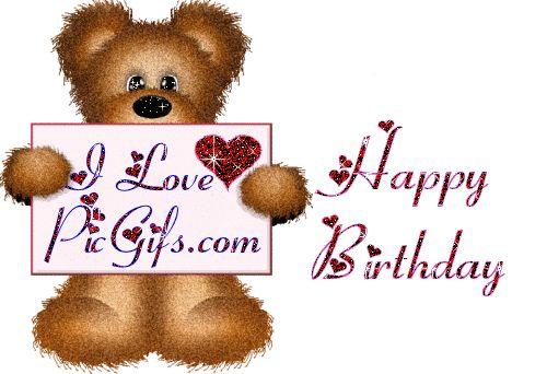 Happy birthday Graphic Animated Gif - Animaatjes happy birthday 9510920