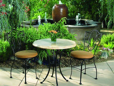 OW Lee Mira Bistro Cushion Wrought Iron Dining Set by OW Lee. $561.00. Shop for wrought iron dining sets at PatioFurnitureBuy.com today and save! When looking for top quality made in USA OW Lee furniture or OW furniture products for your outdoor furniture needs, this Ow lee mira bistro cushion wrought iron dining set (MIRADS) will provide years of enjoyment for your furniture decor.