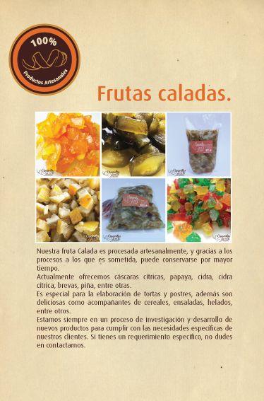 Frutas Caladas