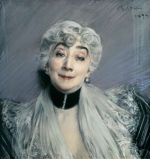 """Giovanni Boldini """"Portrait of the Countess de Martel de Janville, known as Gyp (1850-1932)"""".1894"""