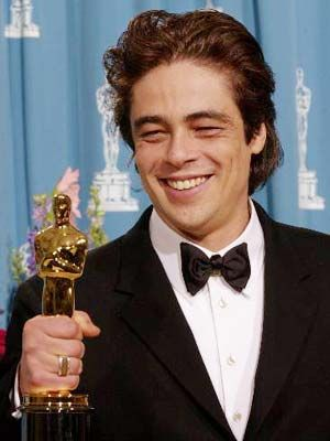 Benicio Del Toro won the Academy Award for Best Supporting Actor for his role as Javier Rodríguez in Traffic (2000).