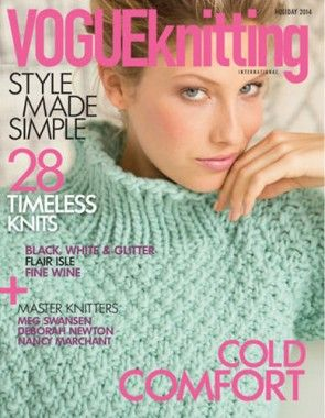 VOGUE KNITTING HIVER 2014 2015                              …
