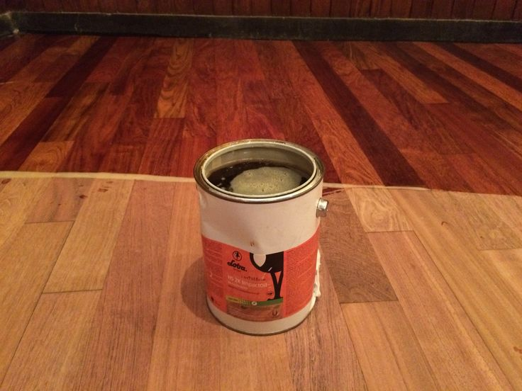 Loba 2K Impact Oil - 1 coat hardwood floor finishing system