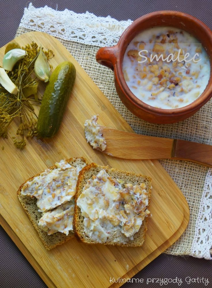 Kulinarne przygody Gatity: Smalec do chleba