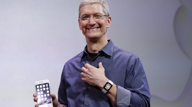 Tim Cook garde son Apple Watch sous la douche