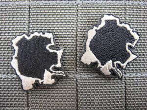 Bullet Hole - Set - Morale Patch - Hero Outdoors