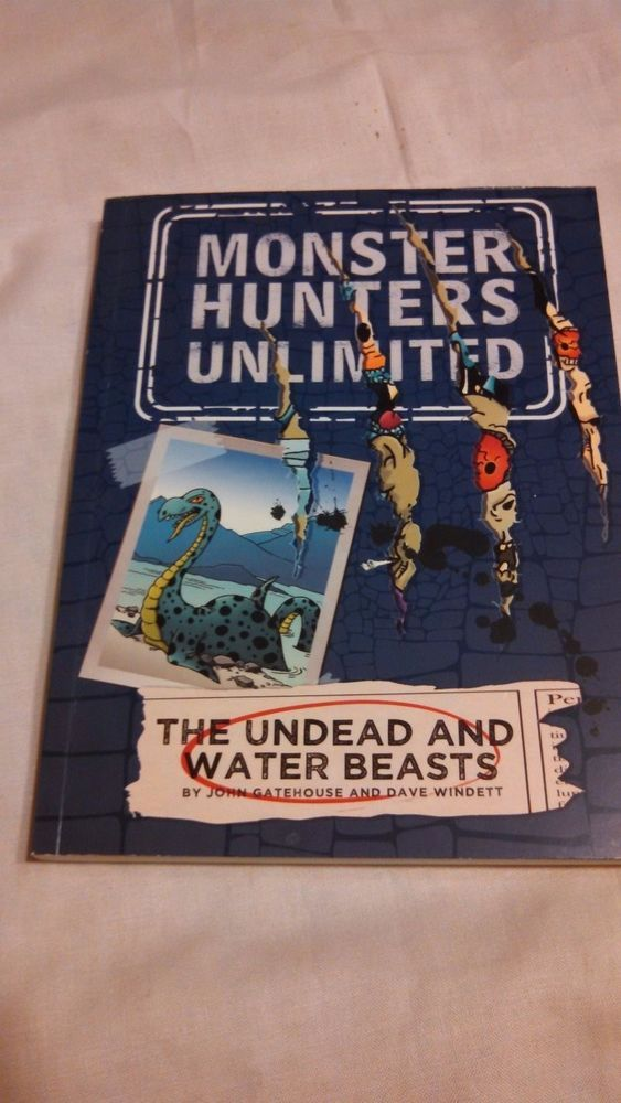 Monster Hunters Unlimited Series The Undead and Water Beasts No. 1 Paperback