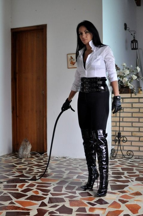 Boots and whip mistress meilleure haben