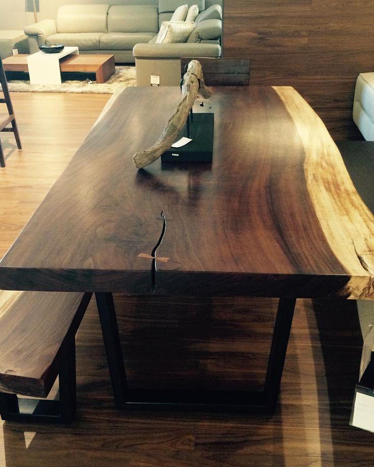 #sandysfurniture #freedom #table Live Edge Table Especially Made For Sandyu0027s  Furniture @sandysfurniturebc