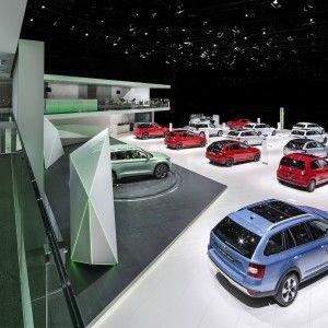 Lovely  koda Internationaler Autosalon Genf Messeauftritt Lichtgestaltung Fachplanung Beleuchtung und Rigging rgb GmbH Essen