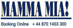 Double the fun of festive season with online booking of Mamma Mia tickets. Special packages are available for Novello Theatre London for Christmas and New Year 2013. Avail our delightful services with the group booking of Novello Theatre tickets London. To check availability and easy booking of Mamma Mia tickets call our executives right away.