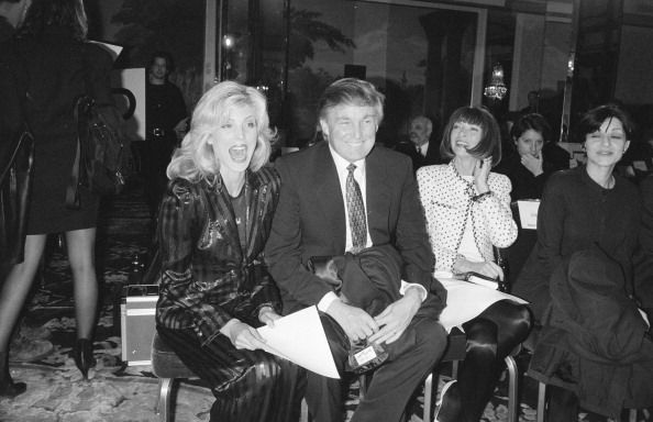 Donald Trump, Marla Maples, and Anna Wintour Pictures | Getty Images
