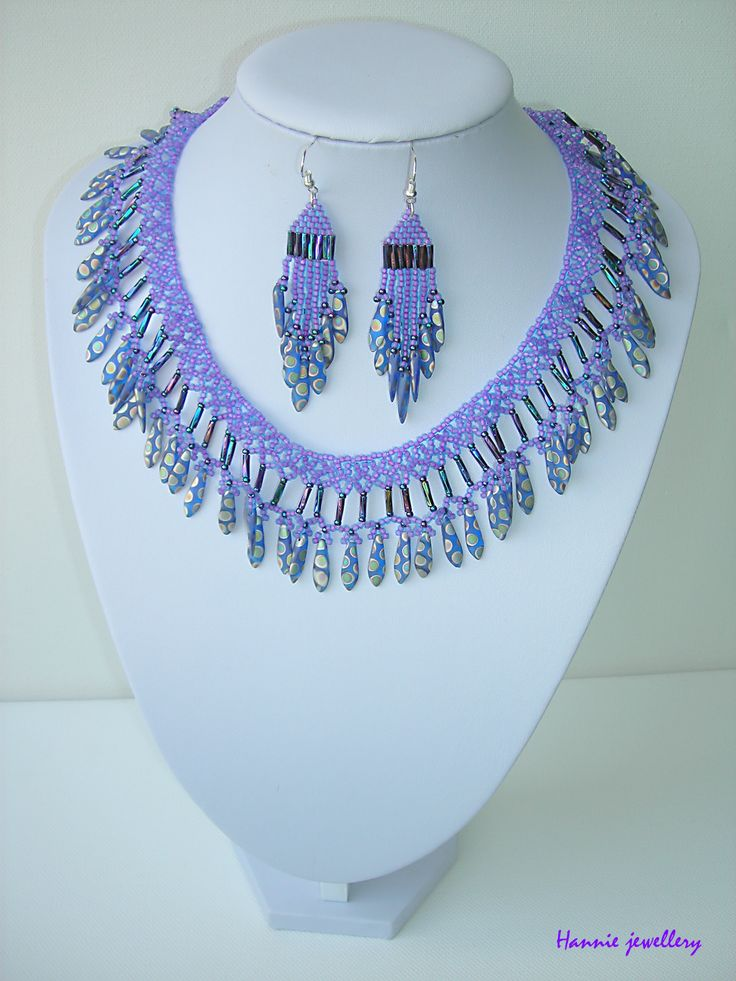Beading jewelery from Hannie jewellery :) Cheb, Czech republic