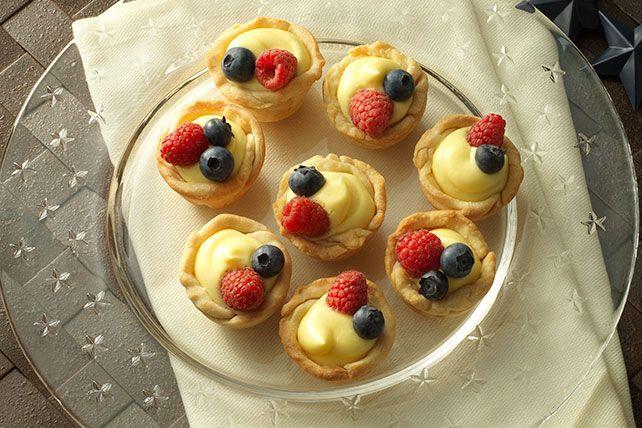 jello with fruit mini fruit tarts
