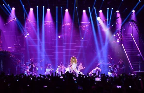 Lady Gaga with Clay Paky B-EYE