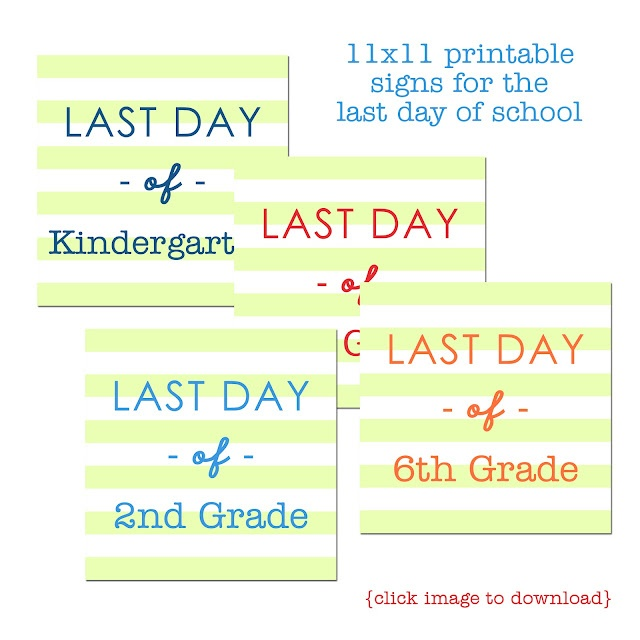 Last Day of School Printables: Kids Stuff, Schools Ideas, Schools Stuff, Summer Fun, Free Printable, Schools Teaching, Schools Signs, Schools Years, Schools Printable