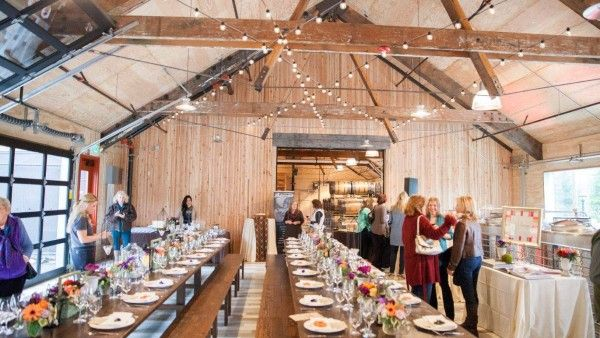 The Barrel Loft At Woodinville Whiskey Company Wedding And