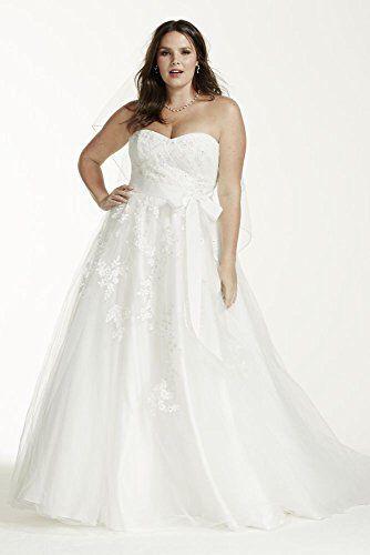 Plus Size Wedding Dress | Pretty Pear Bride | Click to purchase