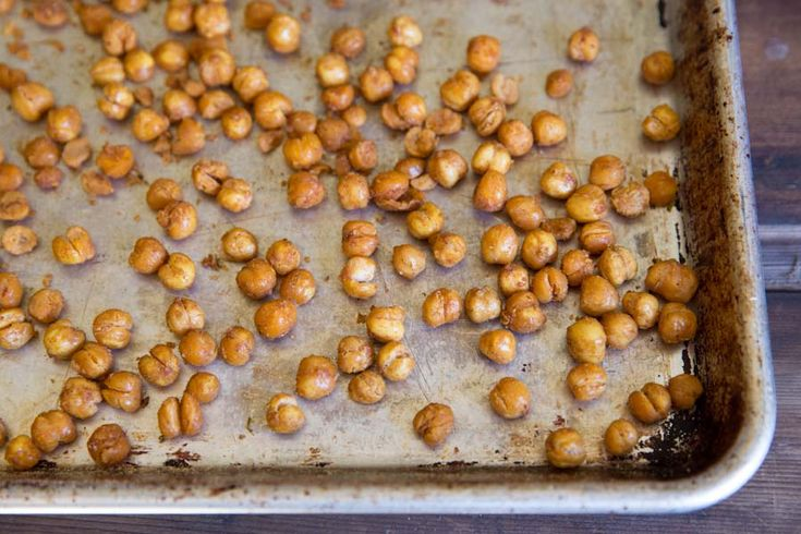 Honey Spiced Roasted Chickpeas Recipe