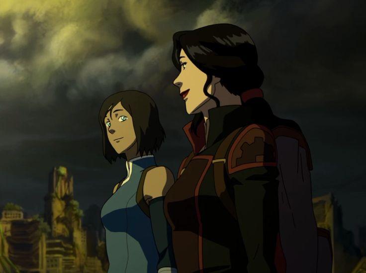 Korra & Asami - Avatar Legend of Korra finale