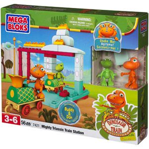 Dinosaur Train Mega Bloks All Aboard the Dinosaur Train Play Set  (Was 21.99 Paid 8.00)