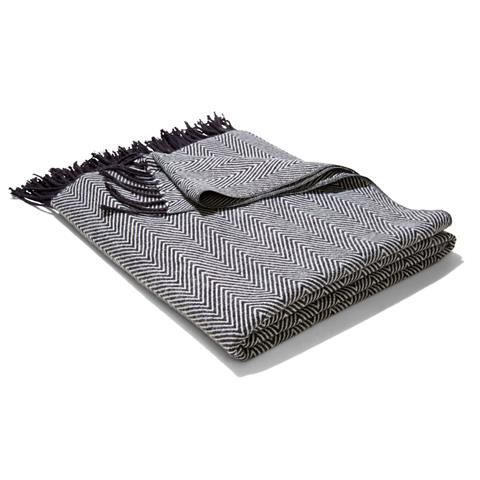 Chevron Throw - Charcoal | Kmart