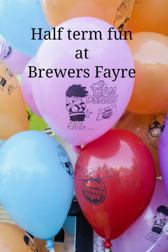 Half term fun at Brewers Fayre - Over 40 and a Mum to OneOver 40 and a Mum to One