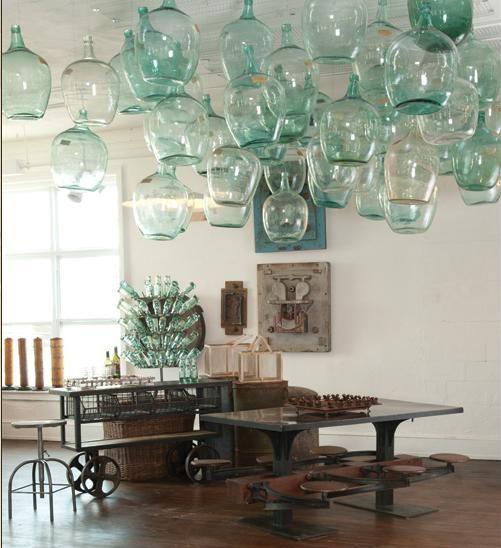 1000 images about glass bottles on pinterest bottle - Damigiane decorate ...
