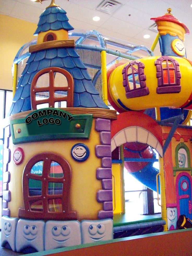 Designed, manufactured and installed in a medical office. Themed indoor playground. Do you have a theme? We did this for a medical office. They wanted something fun for the kids.