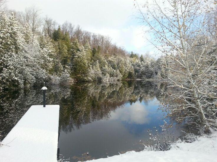 Pond at Benmiller Inn