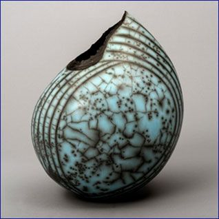 Volcanic- Ceramics sculpture by Hilary Simms