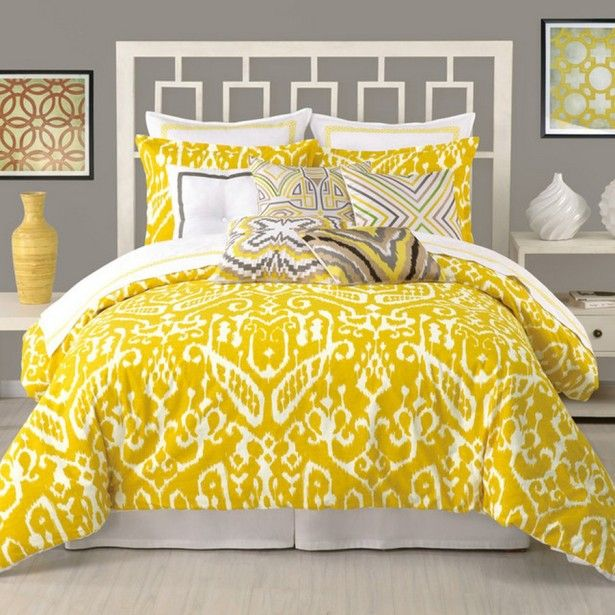 Yellow bedroom ideas for adults Bedroom Decorating Ideas