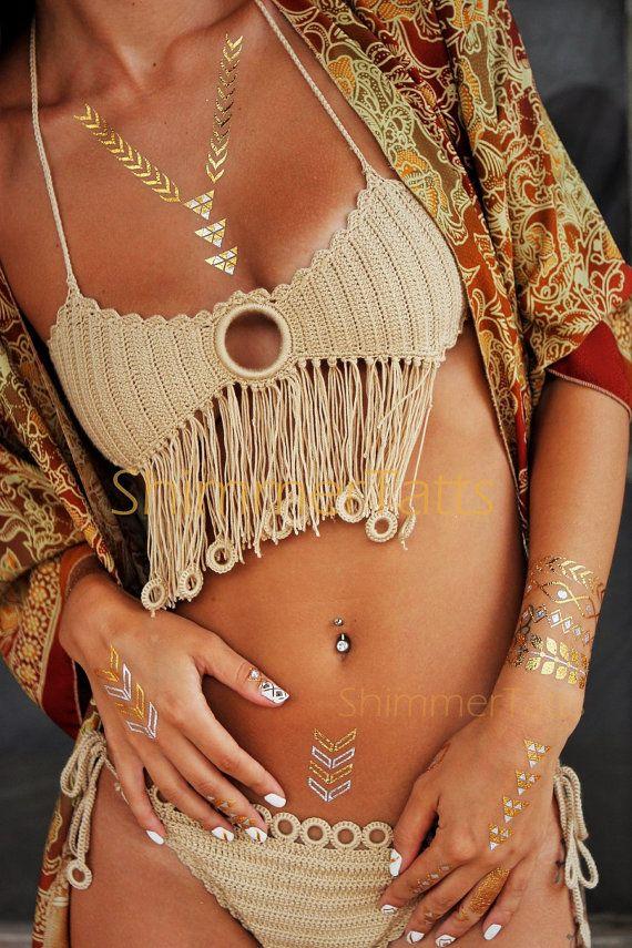 xo ♥ . ✿⊱╮. ★ .╭✿⊰ . . ★ . . ♥ ☽★☀☆☾ ༺♥༻ #shimmer #metallictattoos #gold :: . . ★ . . | :: . ♥ . . ✿⊱╮. ★ . . . . ★ .╭✿⊰ ♥ . . ♥ ☽★☀☆☾ . . ≫ ∙ ∙ + #bohemian #boho #chic  #feminine #fashion #style ≪ ☾ ☼ ✧ ☮ ✧ ☼ ☽ : ॐ ☾ . . ★ . .