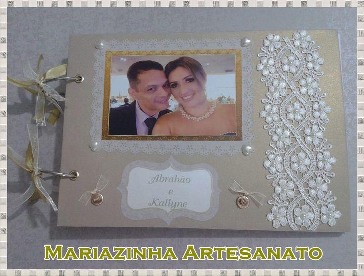 Livro de assinaturas - casamento