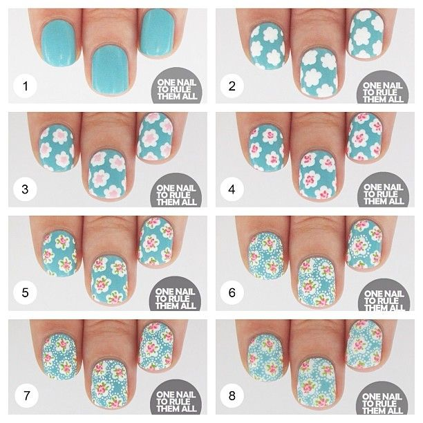 130 best More complex nail designs images on Pinterest | Nail design ...