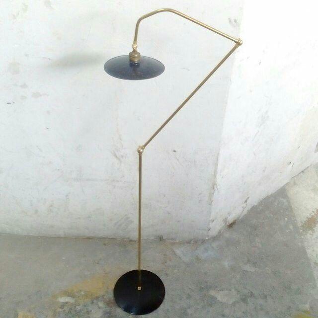 Lampada piantana industriale vintage design italiano stile anni 50 ...