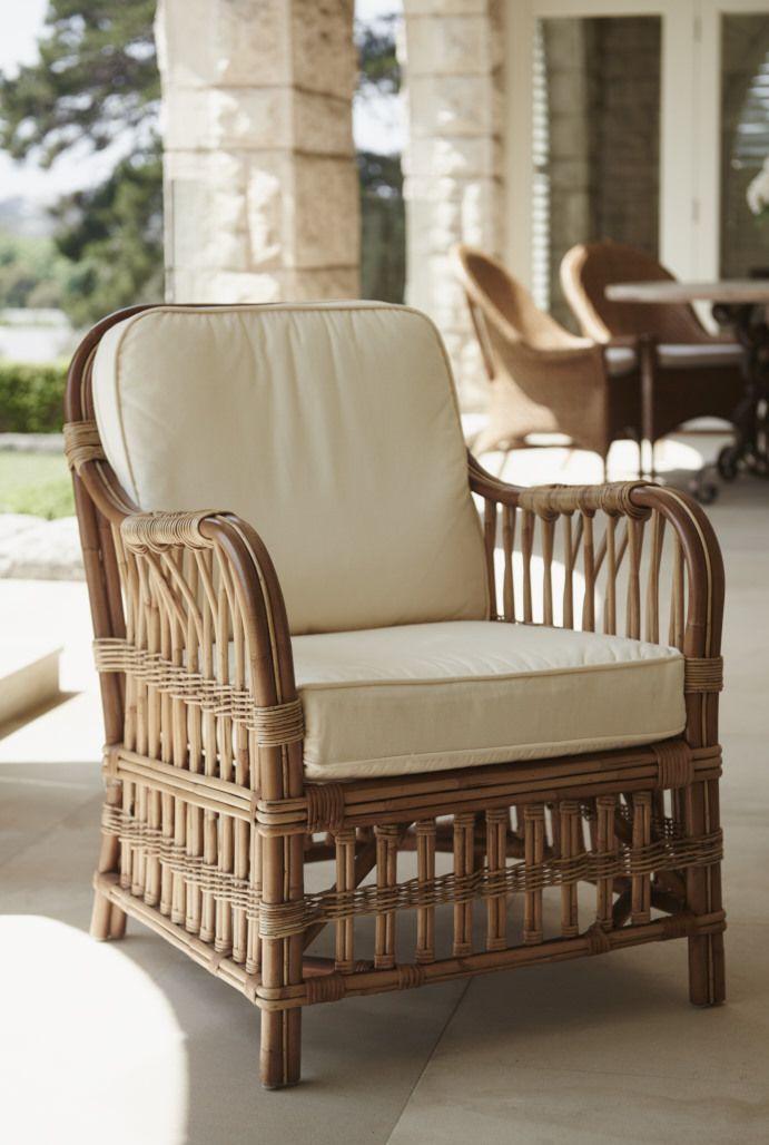 Raffles Armchair - so comfortable #cane#interiordesign#armchair#gaudionfurniture#beachhouse