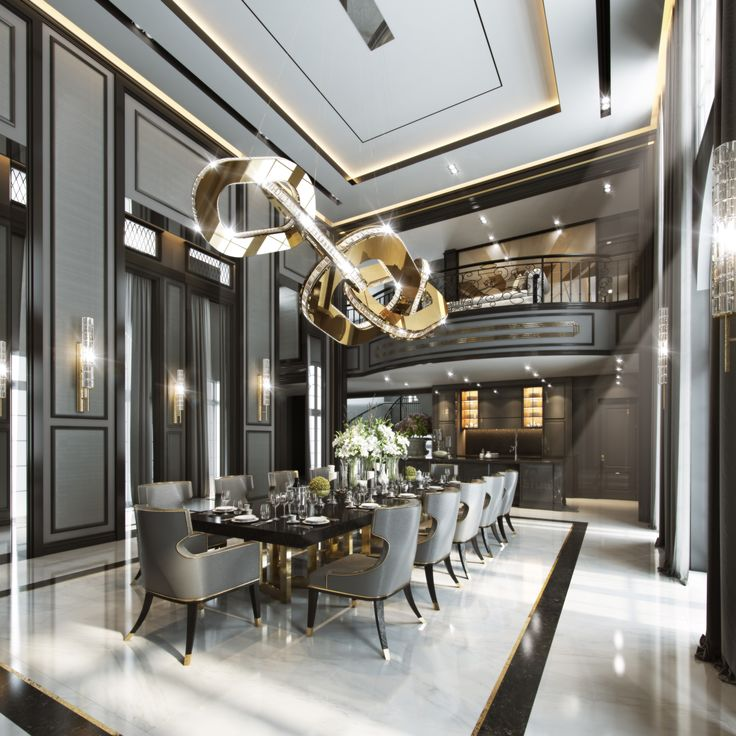 Luxury Home Design: 25+ Best Ideas About Luxury Dining Room On Pinterest