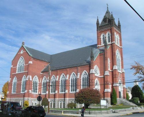 St. John the Evangelist Church, Clinton MA. (1886) |